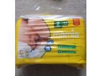 3 x pack Mamia Newborn Nappies (size 2). - 132 nappies