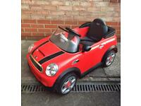 Child's Battery Powered Mini Cooper Coupe