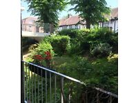 Private Hove 2 bed flat balcony & garage to swap for private house/ large 2/3 bed flat with a garden