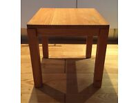 Small Side Table - Wood Light Colour