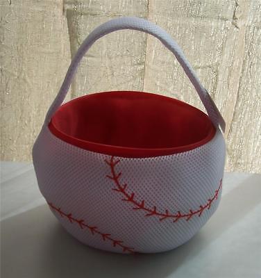 Dan Dee Plush Baseball Basket ~Party Decoration~Any Occasion~Room Decoration~ Baseball Gift Baskets