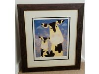 Mackenzie Thorpe Limited Edition Framed Print - Daisy's