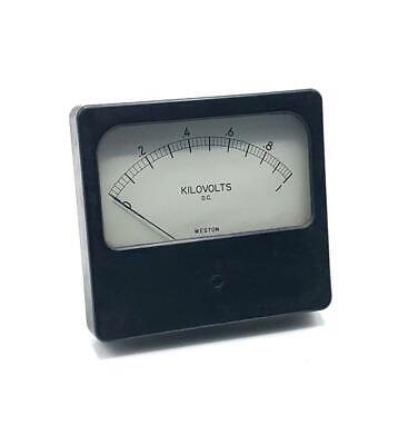 Weston 0-1.0 Kilovolts Dc Panel Meter