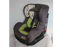 Baby Weavers Car Seat and Munchkin Travel Booster Seat