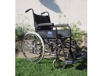 Wheelchair self propelled foldable in good condition FREE DELIVERY WITHIN LEICESTER