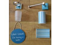 5 BATHROOM ACCESSORIES -------------- £1 each or £3 for all 5 --------------