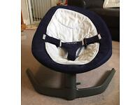 Nuna leaf baby rocker/swing with spare seat, seat insert and nuna toy bar!