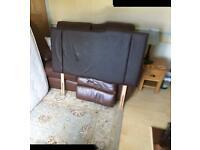 2Drawer Divan Bed 4ft. 1200 mm FREE