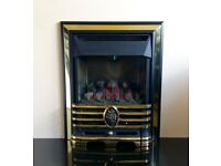 Robinson Willey Belvedere RS 2.8 Kw Inset Balanced Flue Gas Fire (Brass/Black)