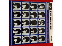 BEATLES - A HARD DAYS NIGHT - STEREO LP