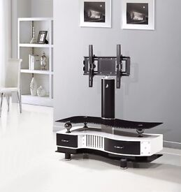 """UNIVERSAL TV STAND WITH BRACKET FOR 32"""" - 65"""