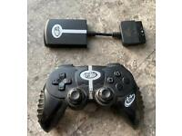 PlayStation 2 wireless controller. PS2