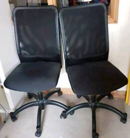 Only One Black swivel chair for sale