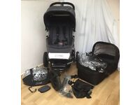 Mountain Buggy Urban Jungle All Terrain Travel System With Extras in VGC