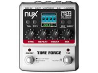 nux time force digital effects pedal