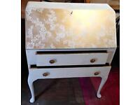 Quirky Bureau/Desk/Dressing Table upcycled