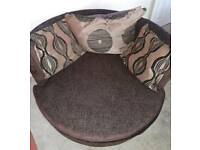 Large 2 Seater Cuddle Chair