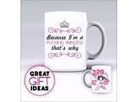 Princess - Mug / Mugs - Add Any Name of Your Choice