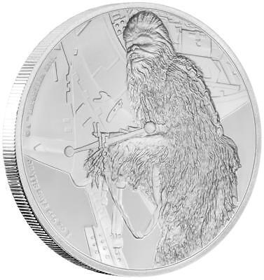 Niue - 2 Dollar 2017 - Chewbacca - Star Wars Classics (8.) - 1 Oz Silber PP