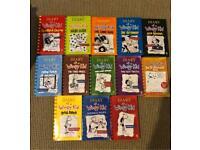 Diary of a wimpy kid, Jeff Kinney books job lot