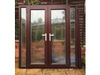 Rosewood on Rosewood French Doors