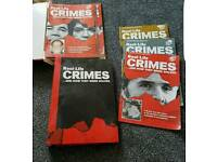 Real life crimes magazine