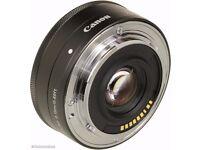 CANON EF-M 22 mm f/2 STM Pancake Lens