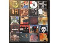20 x rock & heavy metal music cds
