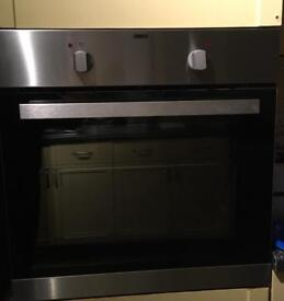 Zanussi oven ZZB10401XV VGC