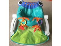 Fisher Price Frog Sit-Me-Up Baby Infant Floor Seat