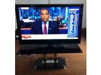 50 inch Samsung plasma TV PS50Q96 HDX/XEU with pedastal stand