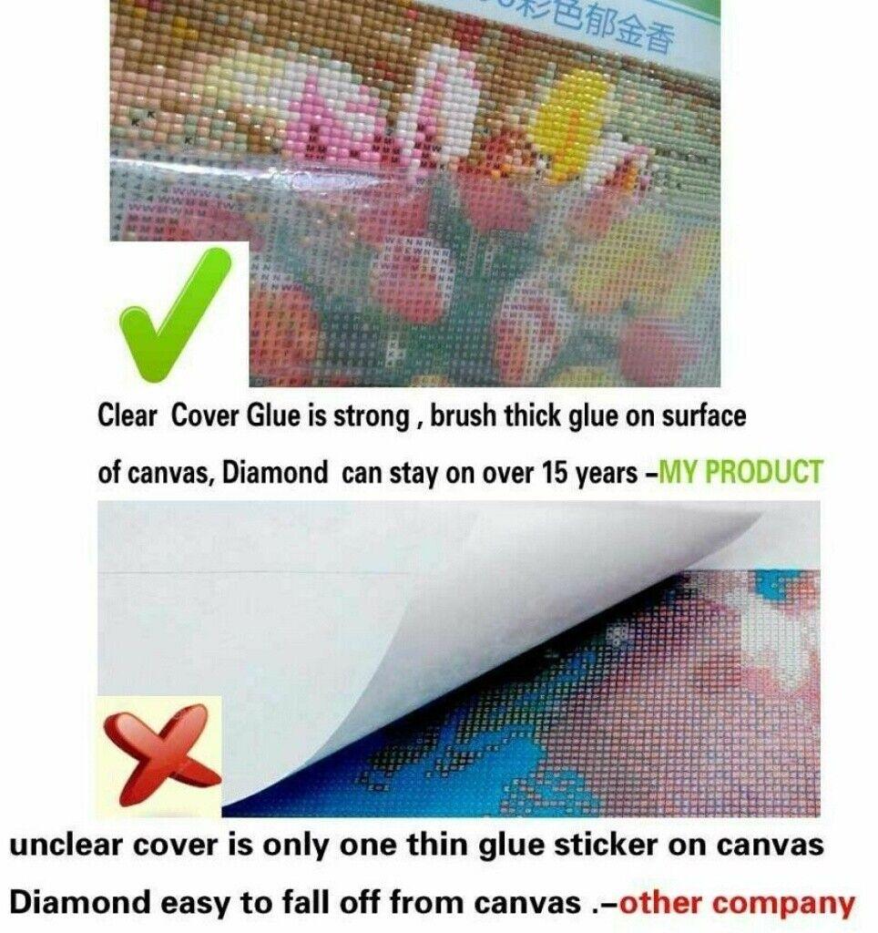 5D Full Drill Diamond Painting Embroidery Cross Stitch Kits Angel Couple Decor