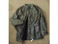 Men coats Winter warm motorcycle Leather mens Fur coat distressed PU jacket