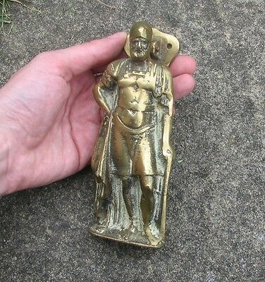 Old Decorative Reclaimed Solid Brass Door Knocker
