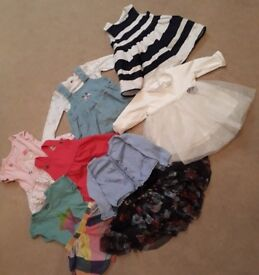 Bundle of baby girls clothing 3-6 months.