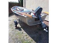 LINDER FISHING 440 ALUMINIUM BOAT