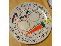 Christmas Eve Plates gift