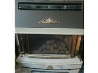 Back Bermuda SL3 gas fireplace complete