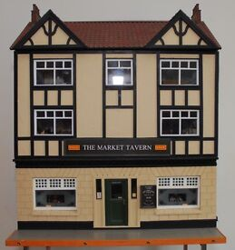 Fully stocked Market Tavern Dolls House