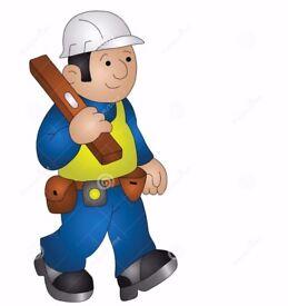 Block paving,fencing,Tiling, plasterboard fitting,plastering, painting ,laminate flooring,brick work