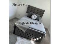 Brand new princess bed frame double king size