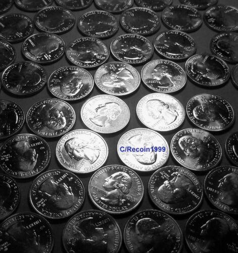 (1 coin) 2020 W Weir Farm National Park quarter from new bank roll