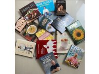 Expensive Quality Cookbooks Collection by Classic Top Chefs 30 Plus +