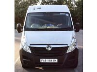 'Man and Van' for immediate hire 24/7. ANY ITEMS ANY DISTANCE