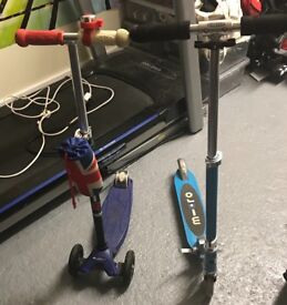 Micro Sprint And Maxi Micro Scooter for sale