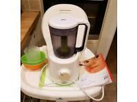 Philips avent steamer blender plus 4 munchkin bowls
