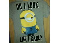 Brand New Boy's Despicable Me T-Shirt