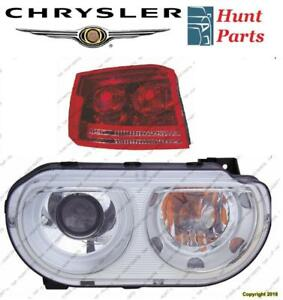 Chrysler Head Lamp Tail Headlight Headlamp light Fog Mirror Phare Avant Arrière Antibrouillard Lumière Brouillard Miroir