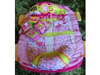Bright Starts Washable Tummy Time/Play Mat and Activity Cubes - Excellent, Clean Condition.