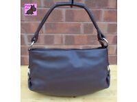 RADLEY - 'Lilypond' Brown Leather Large Shoulder Bag *Pristine Condition*